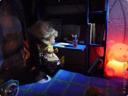 Вот такой домик,я построила дочке, по чертежам из интернета ))) фото 28