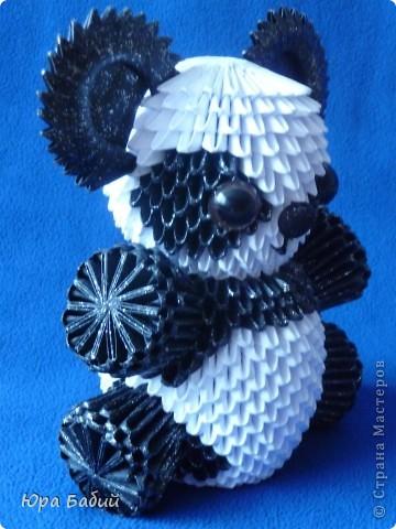 Модульное оригами панда пошаговое | декоративно-прикладное искусство.
