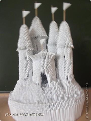 Модульное оригами Средневековый замок.