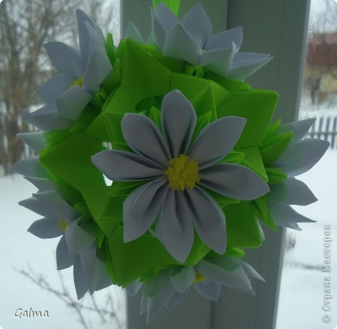 Кусудама Квиллинг Оригами