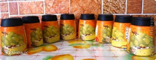 Вот такие баночки для специй поселились теперь на моей кухне...))))) фото 2