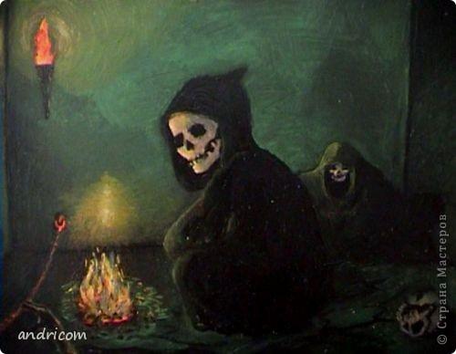 страшная живопись: