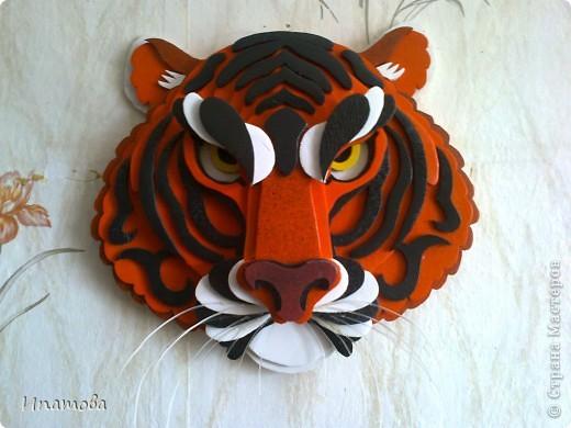 Как сделать своими руками тигра 85