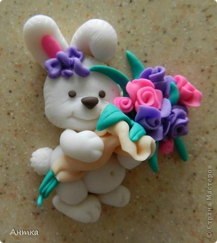 Мастер-класс 8 марта День рождения Лепка Букет для милых дам МК Пластика фото 1