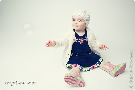 Пальтишко и шапочка для моей любимой доченьки фото 3