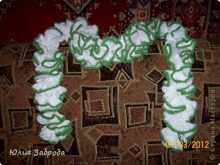 Эффектный шарфик для мамы фото 1