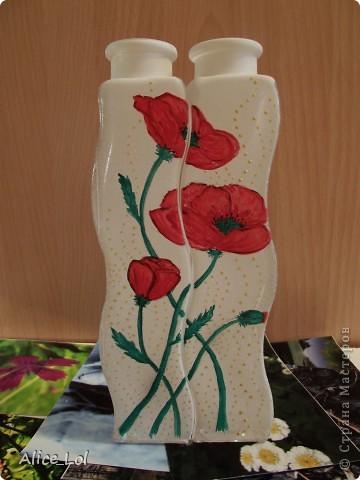 Вот такие вазочки или просто интерьерные бутылочки. фото 1