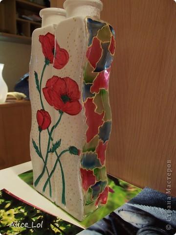 Вот такие вазочки или просто интерьерные бутылочки. фото 3