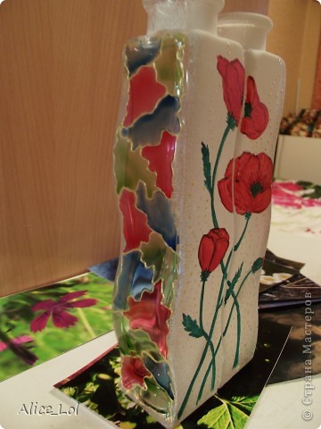 Вот такие вазочки или просто интерьерные бутылочки. фото 4