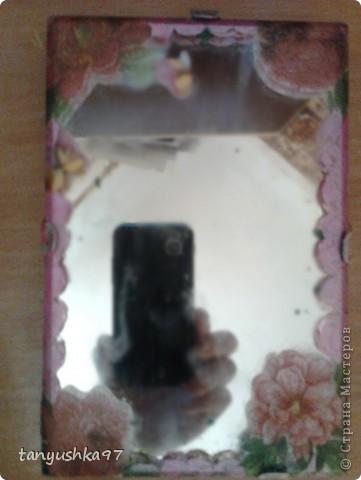 Я нашла старое зеркало, оно мне понравилось и я решила его обновить) фото 9