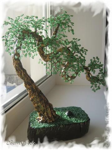 Поделка изделие Бисероплетение деревья из бисера ручная работа Бисер фото 12.