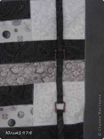 Готова сумка в серых тонах. фото 2
