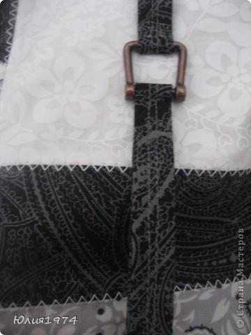 Готова сумка в серых тонах. фото 4