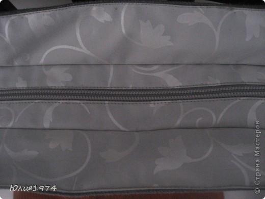 Готова сумка в серых тонах. фото 5