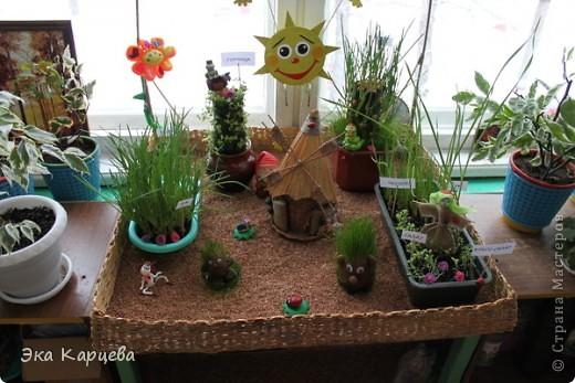 огород для детского сада своими руками