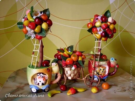 Приветствую всех жителей СМ!!! Весна пришла, а у меня фруктовый БУМ!!! Наверное, потому что нехватка витаминов!!!))) фото 1