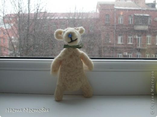 И свалялось это нечто...То ли медведь, то ли мышка, то ли пёсик...На любой вкус!:)Зовут - Гуфи...))) фото 1