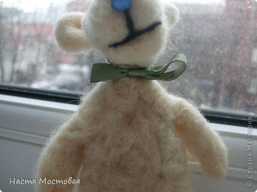 И свалялось это нечто...То ли медведь, то ли мышка, то ли пёсик...На любой вкус!:)Зовут - Гуфи...))) фото 3