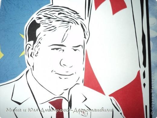 Президент Грузии Михаил Саакашвили фото 2