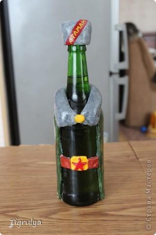 Вот такая Граната получилась в подарок мужу, она заряжена пивком фото 3