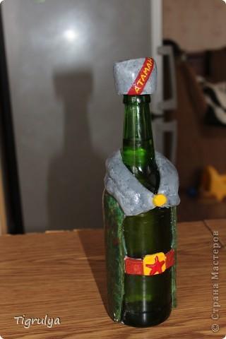 Вот такая Граната получилась в подарок мужу, она заряжена пивком фото 4