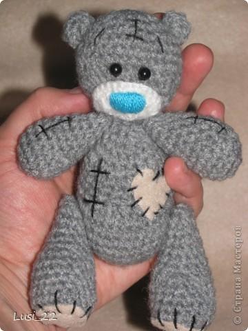 крючком Мои мишки Тедди