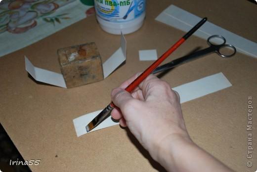 Мастер-класс 8 марта День рождения Папье-маше Шкатулка из картона Гуашь Картон фото 6