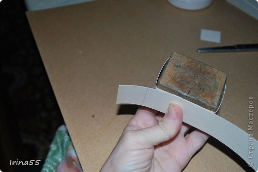 Существует несколько способов изготовления шкатулок из картона. Этот самый простой. фото 7