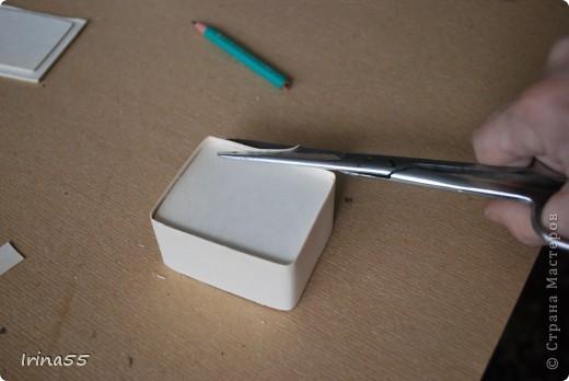 Мастер-класс 8 марта День рождения Папье-маше Шкатулка из картона Гуашь Картон фото 19