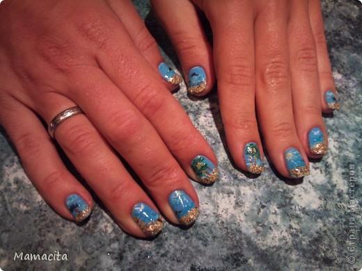 Роспись на ногтях фото 2
