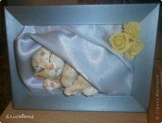 Вот такую картинку подарила Тете в память о ее любимце... фото 5