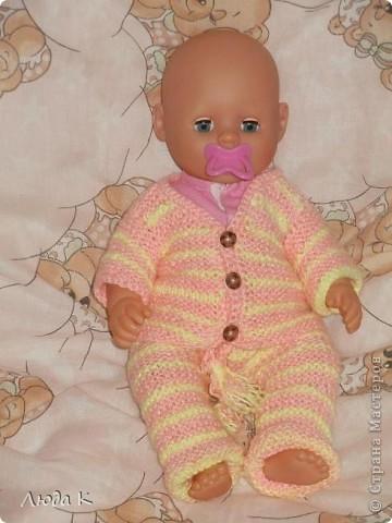 Наряжали куклу в детский сад))) фото 2