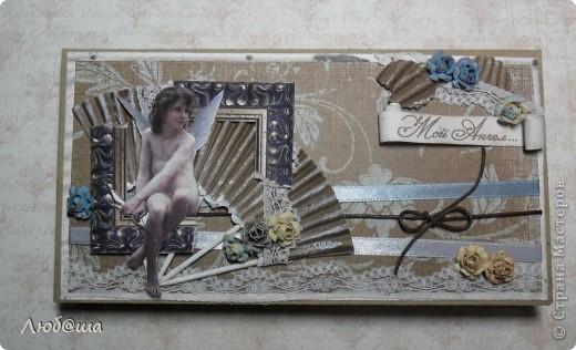 Доброго времени суток дорогие жители СМ. Хочу показать свои последние работы. Первая - открытка на 8 марта с самодельными цветами! фото 4