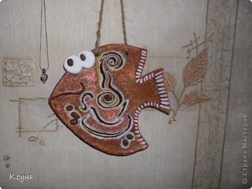 Вот и у меня появилась кофейная рыбка,о которой мечтала насмотревшись шедевров от Дватой .Спасибо за вдохновение,Настенька! фото 2