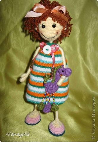 Вот такая куколка у меня получилась по мк Розетка  фото 4