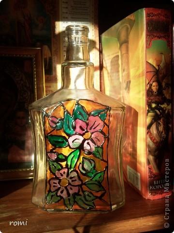 Моя первая декупажная вазочка. фото 9