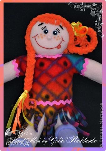 Сделала такую куколку на городской конкурс племяннице в город Боровичи))) фото 3