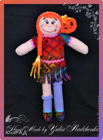 Сделала такую куколку на городской конкурс племяннице в город Боровичи))) фото 1