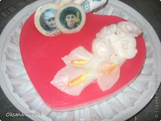 торт из мыла на свадьбу друзьям