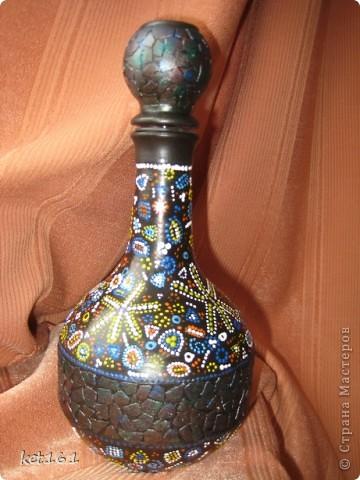 Бутылочка с яичной скорлупой фото 1