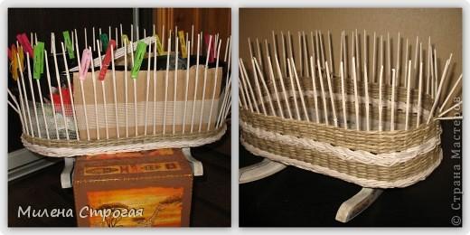 Самая необходимая вещь в доме, где есть маленькая девочка - кроватка для кукол!!! Описаний колясок в интернете море, добавлю свое. Может кому пригодится... фото 3