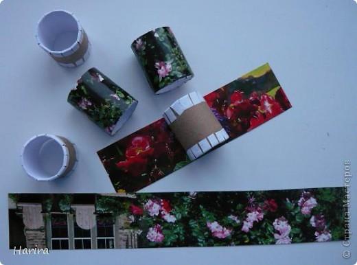Здравствуйте, дорогие мастерицы. Вот и наступила весна, а значит скоро праздник! Спешу поделиться идеей, как быстро и красиво сделать небольшие подарки для гостей. Это - кольца для салфеток. Но здесь они используются в качестве оригинальной упаковки. фото 5
