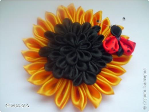 .Продолжаем заражаться цветочками...))) Все на резинках. Вот такие разные на этот раз))) Все вместе... фото 3