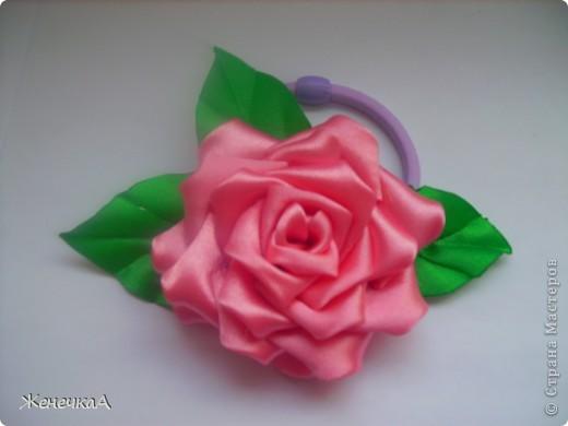 .Продолжаем заражаться цветочками...))) Все на резинках. Вот такие разные на этот раз))) Все вместе... фото 4