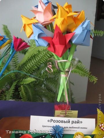 """С приходом весны, СТРАНА!!! Предлагаю вашему вниманию фоторепортаж с выставки в нашей школе. Мы её назвали """"Цветочная феерия"""", и это справедливо, ведь скоро Женский день))) фото 5"""