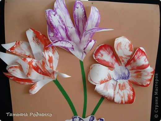"""С приходом весны, СТРАНА!!! Предлагаю вашему вниманию фоторепортаж с выставки в нашей школе. Мы её назвали """"Цветочная феерия"""", и это справедливо, ведь скоро Женский день))) фото 27"""