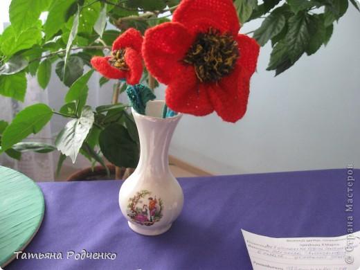 """С приходом весны, СТРАНА!!! Предлагаю вашему вниманию фоторепортаж с выставки в нашей школе. Мы её назвали """"Цветочная феерия"""", и это справедливо, ведь скоро Женский день))) фото 9"""
