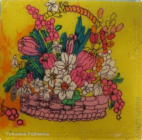 """С приходом весны, СТРАНА!!! Предлагаю вашему вниманию фоторепортаж с выставки в нашей школе. Мы её назвали """"Цветочная феерия"""", и это справедливо, ведь скоро Женский день))) фото 16"""