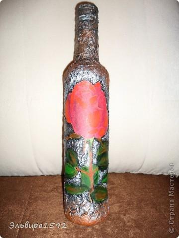бутылочка принарядилась,ждёт распития! фото 3