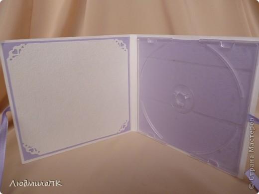 Здравствуйте, дорогие мастерицы! Вот, сделала коробочки для дисков. Идея, конечно, не моя, видела где-то в интернете... А идея такая... фото 4